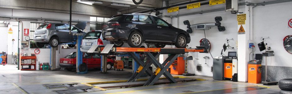 Autofficina auto a Novara